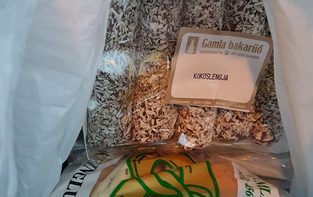 Kókoslengjur og bakkelsi úr Gamla fást nú í Reykjavík!