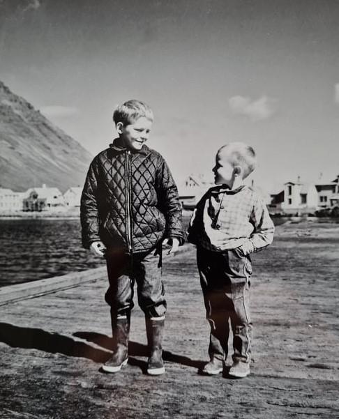 Leiðrétting á myndatexta í Vestanpóstinum 2020